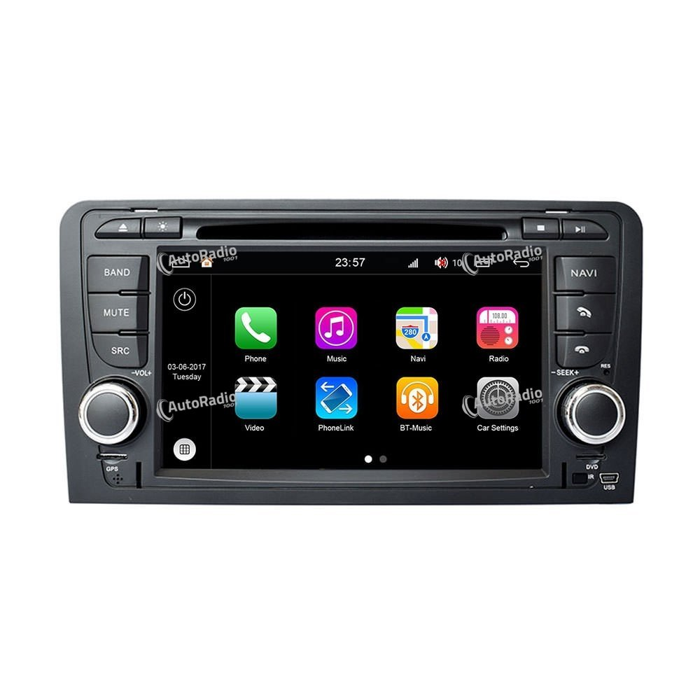 poste autoradio dvd gps audi a3 2003 2012 aux prix les. Black Bedroom Furniture Sets. Home Design Ideas