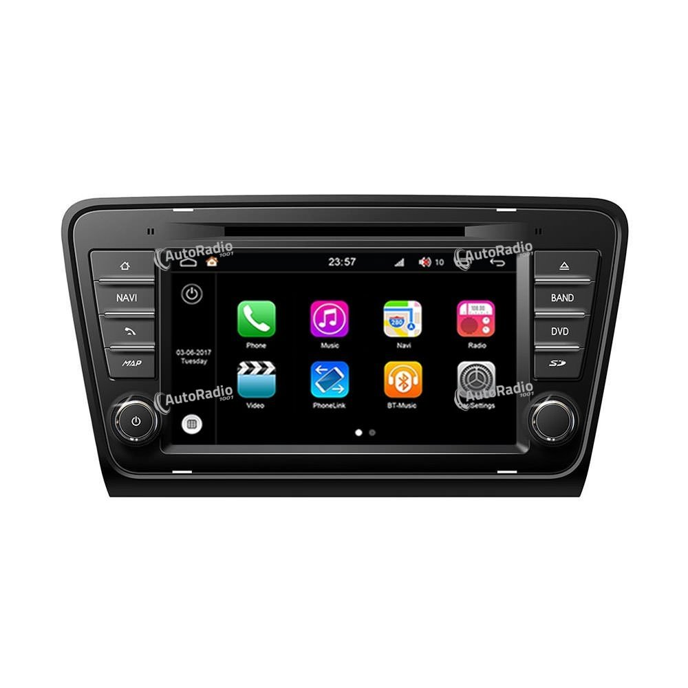 poste autoradio dvd gps skoda octavia 2013 2014 aux prix. Black Bedroom Furniture Sets. Home Design Ideas