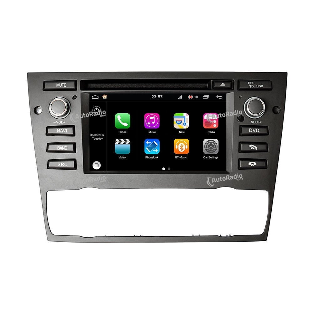 poste autoradio dvd gps bmw e90 e91 e92 e93 auto air con car dvd bmw aux prix les plus bas sur. Black Bedroom Furniture Sets. Home Design Ideas