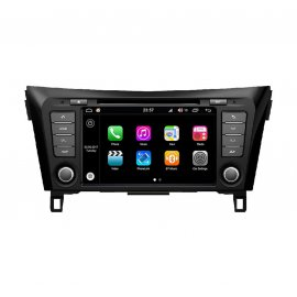 Car Navigation Android 8.0 Nissan Qashqai 2014