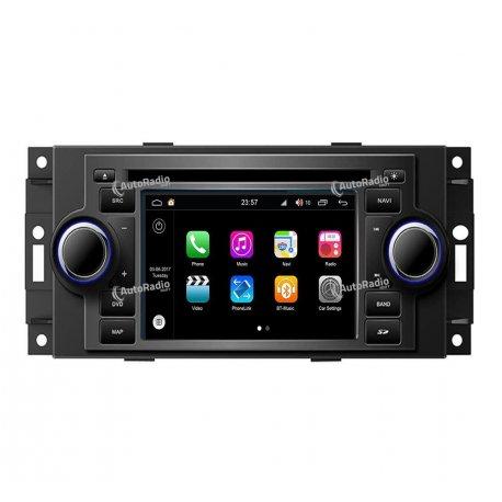 Car Navigation Android 8.0 Jeep Grand Cherokee (2007-2015)