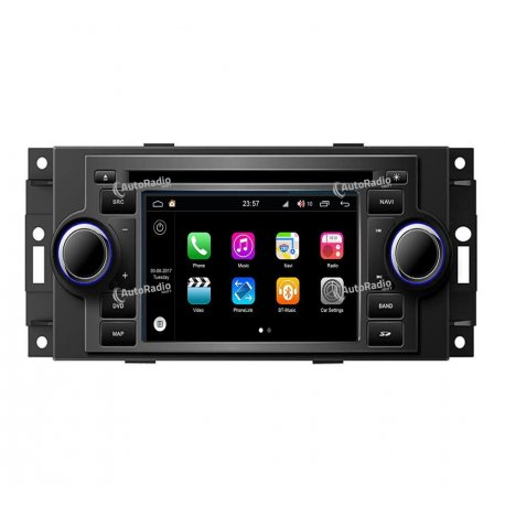 Navigatore Android 8.0 Jeep Compass (2007-2015)