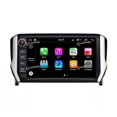 Navigatore Android 8.0 Peugeot 2008