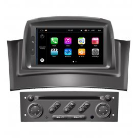 Car Navigation Android 8.0 Renault Megane 2 (2002-2008)
