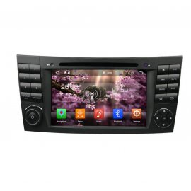 Car Stereo Android 8.0 Mercedes Benz E-Class W211 (2002-2008)