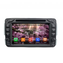 Autoradio Android 8.0 Mercedes Benz A Class W168 (1998-2002)