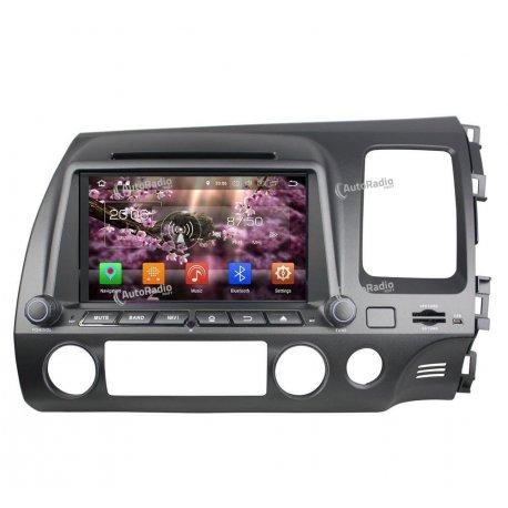 Autoradio Android 8.0 Honda CIVIC Right Hand Driving (2006-2011)