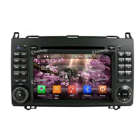 Autoradio Android 8.0 Mercedes Benz A Class W169 (2004-2012)