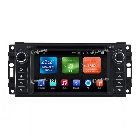Autoradio Android 8.0 Jeep Grand Cherokee (2008-2011)