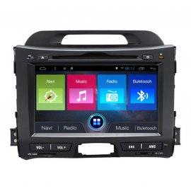 Car Stereo Android 8.0 KIA SPORTAGE (2010-2013)