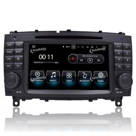 Autoradios GPS Mercedes CLK W209 (2006-2009)