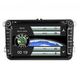 """GPS Skoda Fabia 8"""" (2006-2013)"""