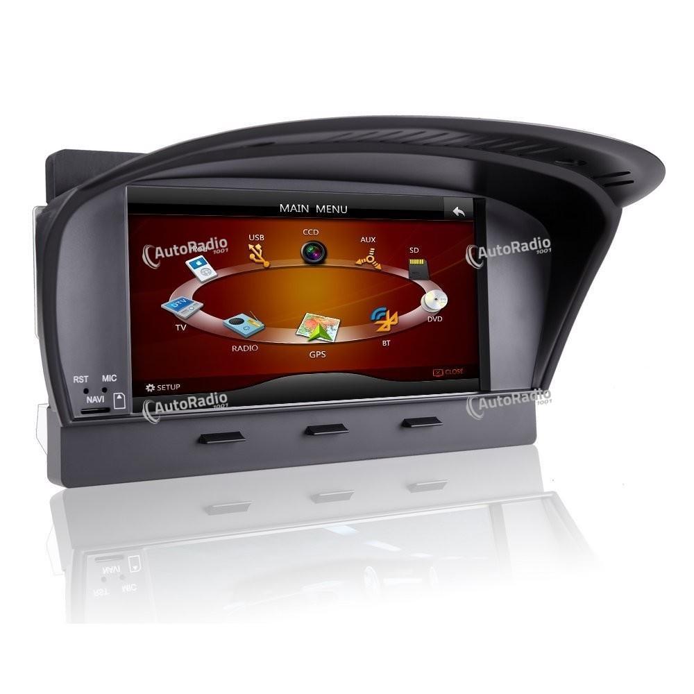 autoradio gps bmw e60 2005 2010 8 inch screen bas prix. Black Bedroom Furniture Sets. Home Design Ideas
