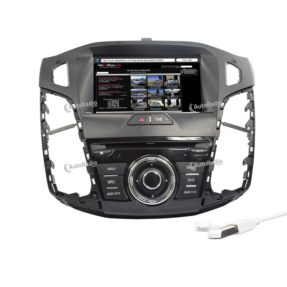 poste autoradio dvd gps ford focus 2012 aux prix les plus. Black Bedroom Furniture Sets. Home Design Ideas