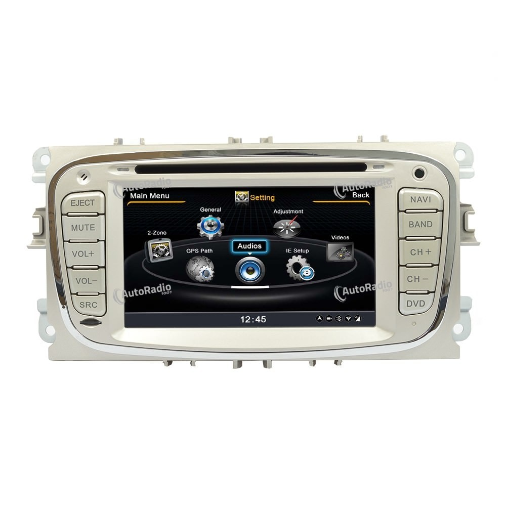 poste autoradio dvd gps ford mondeo focus s max aux prix. Black Bedroom Furniture Sets. Home Design Ideas