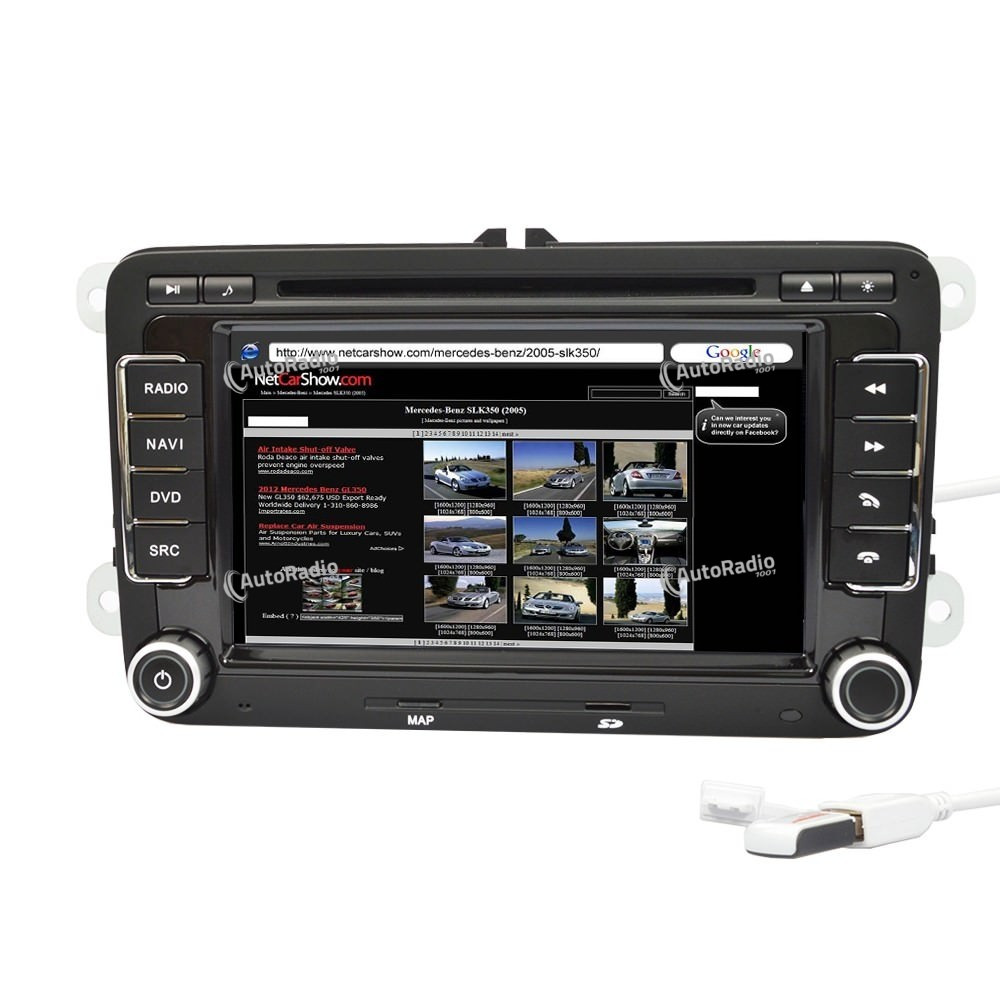 poste autoradio gps dvd vw golf car dvd volkswagen aux. Black Bedroom Furniture Sets. Home Design Ideas